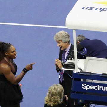 Серену Уильямс оштрафовали за поведение в финале US Open