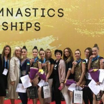 Украинские гимнастки выиграли бронзу на Чемпионате мира в Болгарии