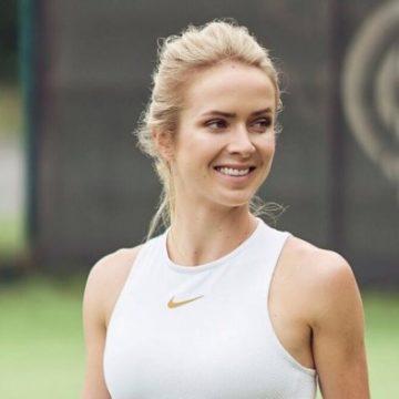 Звезда украинского тенниса Элина Свитолина снялась в фотосессии для Elle