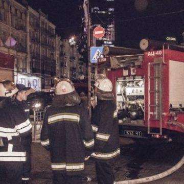 В Киеве горел Бессарабский рынок (ФОТО+ВИДЕО)