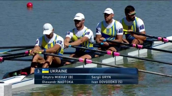 Украинцы завоевали бронзу на Чемпионате мира по академической гребле