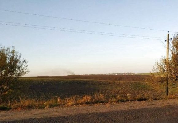 Падение самолета в Винницкой области: очевидцы рассказали подробности