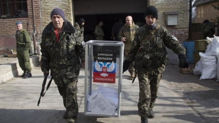 """Бутафорские """"выборы"""" на Донбассе: обнародованы первые «результаты»"""
