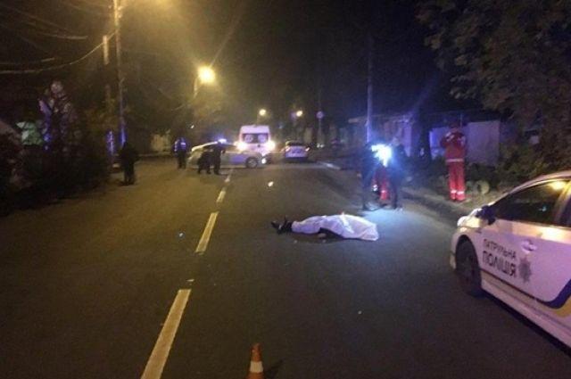 В Кропивницком на улице расстреляли мужчину