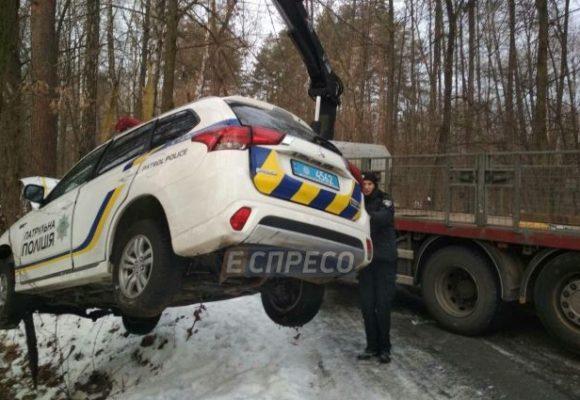 В Киеве произошло очередное ДТП с полицейскими: четвертое за выходные