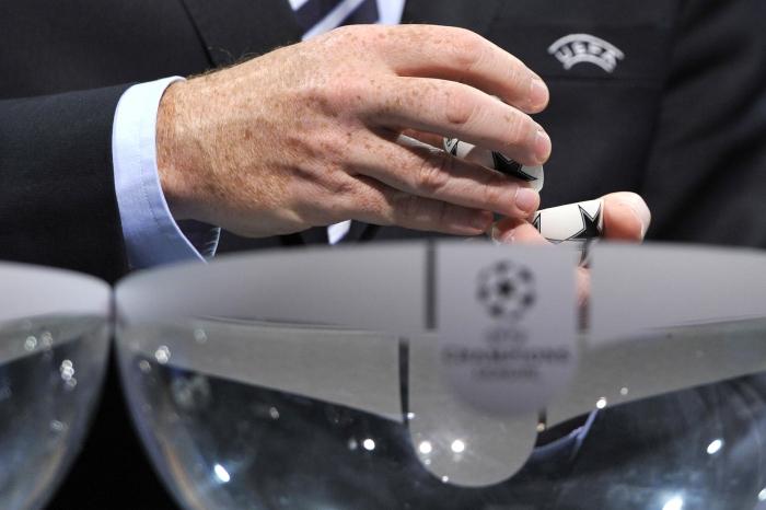 Жеребьевка 1/8 финала Лиги чемпионов: хроника и результаты
