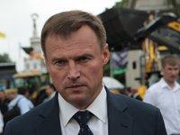 Лидер Аграрной партии Скоцик подал в ЦИК документы кандидата в президенты
