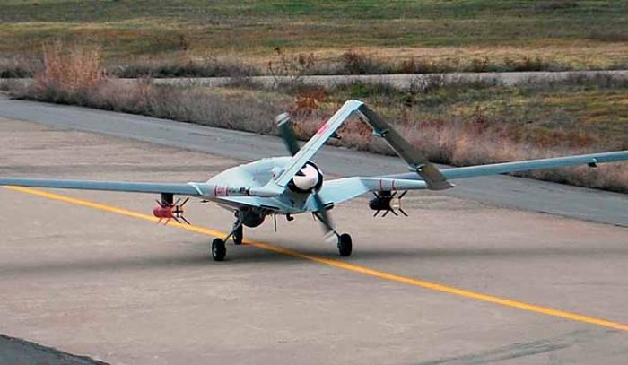 Украина купит у Турции, дроны, которые могут нести авиационные бомбы