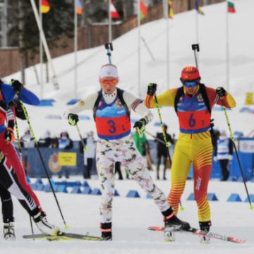 Украинская женская сборная выиграла «бронзу» на чемпионате мира по биатлону