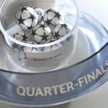 Жеребьевка 1/4 финала Лиги чемпионов: онлайн-трансляция