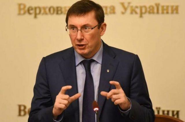 Группу чиновников задержали на взятки в 500 тысяч долларов, — Луценко