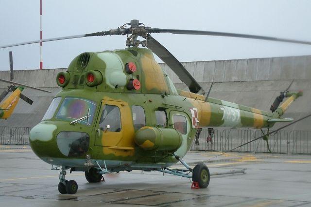 В Сумской области упал вертолет МИ-2: есть жертвы