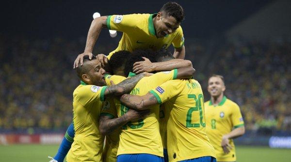 Бразилия — Перу — 3:1 Хроника финала Кубка Америки, видео голов