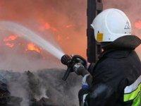 В Николаевской области ликвидировали пожар дизельного поезда