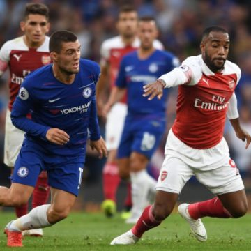 Арсенал — Челси — 1:2 Хроника матча, видео голов