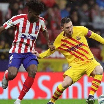 Барселона — Атлетико — 2:3 Хроника матча, видео голов