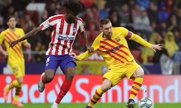 Барселона — Атлетико: онлайн трансляция