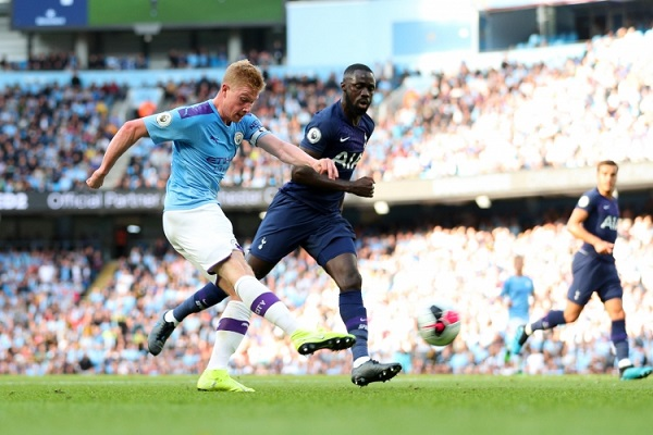 Тоттенхэм Хотспур — Манчестер Сити — 2:0 Хроника матча