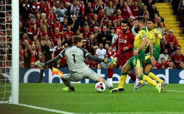 Норвич Сити — Ливерпуль — 0:1 Хроника матча
