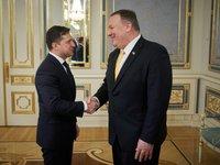 Зеленский обсудил с Помпео получение от США кредитных гарантий для стабилизации экономики — в дополнение к помощи от МВФ, ВБ и других партнеров
