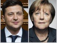 Меркель в разговоре с Зеленским поддержала инициированные Украиной изменения в Минской ТКГ