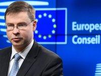 ЕС будет продолжать поддерживать Украину – Домбровскис