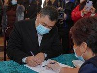 Жапаров лидирует на президентских выборах в Киргизии после обработки 90% бюллетеней