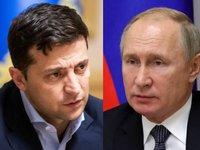 Путин готов обсуждать с Зеленским двусторонние отношения в Москве, но для решения проблем Донбасса предложил ему встретиться с главами «ДНР» и «ЛНР»
