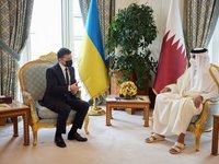 Катар заинтересован во вхождении на банковский рынок Украины — Зеленский