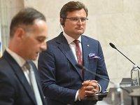 Кулеба обсудил с главой МИД Германии военную эскалацию со стороны России